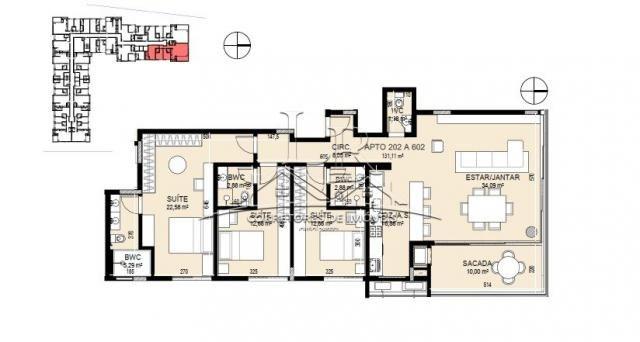 Apartamento à venda com 3 dormitórios em Jurerê internacional, Florianópolis cod:1650 - Foto 20
