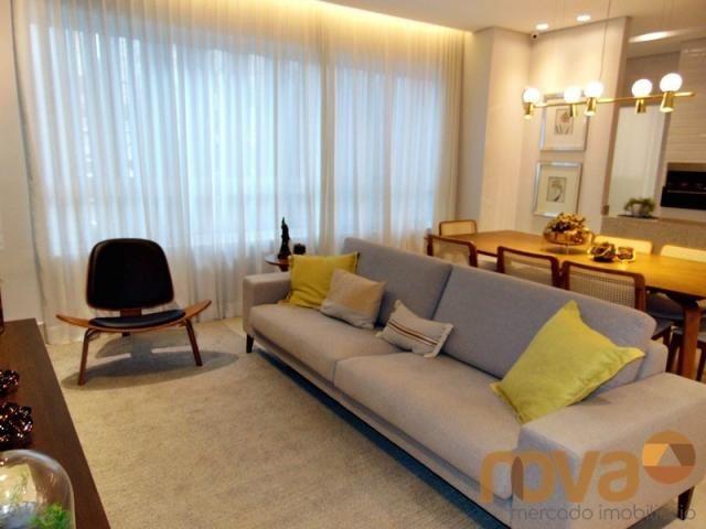 Apartamento à venda com 3 dormitórios em Setor marista, Goiânia cod:NOV235626 - Foto 18
