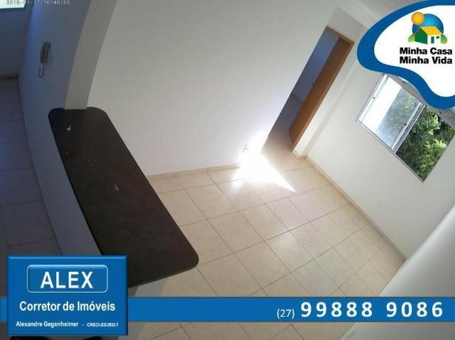 ALX - 68 - Apartamento com Subsídio de até R$ 23.200,00 e F.G.T.S como Entrada ? 2 Quartos - Foto 8