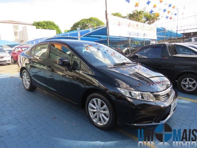 Honda Civic Automatico 2014 1.8 Lxs Completo Perfeito Estado Apenas 48.900 Lja - Foto 3