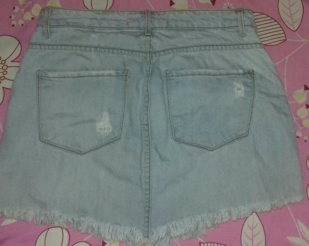 Saia jeans R $25 reais - Foto 2