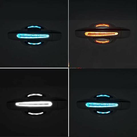 Adesivos de carro reflexivo para porta