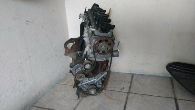 Motor parcial chevrolet ônix 1.4 ano 2015 usado original - Foto 2