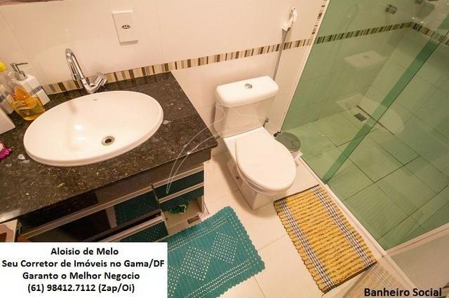 Aloisio Melo Vde: Q. 01 S/Leste! Sobrado, 2 Casas c/3 Quartos, Aceita Financ./FGTS - Foto 15