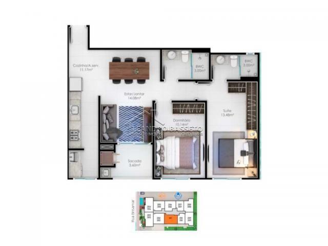 Apartamento à venda com 2 dormitórios em Ingleses, Florianópolis cod:1443 - Foto 6