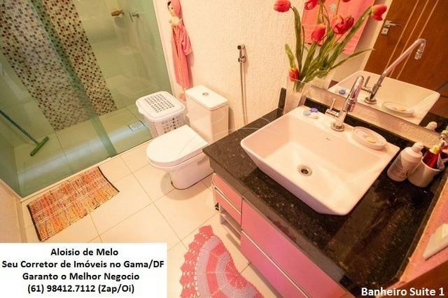 Aloisio Melo Vde: Q. 01 S/Leste! Sobrado, 2 Casas c/3 Quartos, Aceita Financ./FGTS - Foto 12