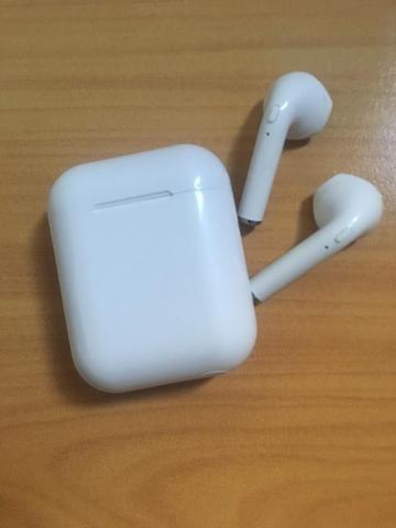 Fone de Ouvido EarPods I12 Bluetooth Android celular - Foto 4
