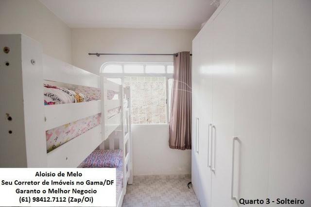 Aloisio Melo Vde: Q. 33 S/Leste, 2 Casas; Sala, Cozinha, 3 Qtos, Ac. Financiamento/FGTS - Foto 13