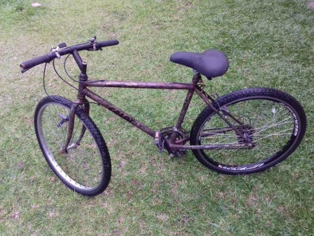 Bicicleta usada andando de boa! 3x sem juros no cartão