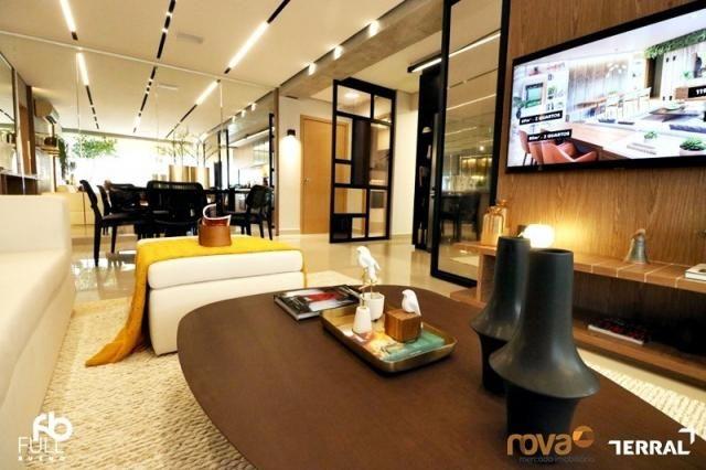 Apartamento à venda com 3 dormitórios em Setor bueno, Goiânia cod:NOV235717 - Foto 4