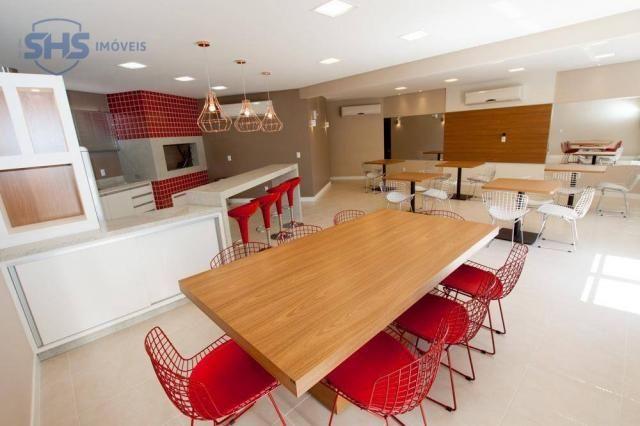 Apartamento com 2 dormitórios para alugar, 56 m² por r$ 1.400/mês - fortaleza - blumenau/s - Foto 20
