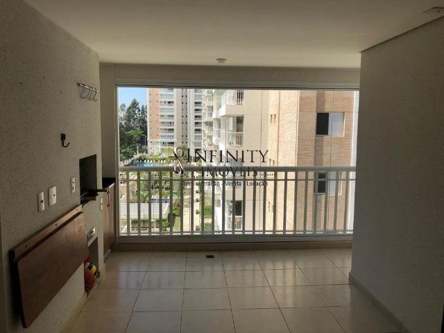 Apartamento 90 m², 2 suítes, sala estendida, varanda gourmet, 1 vaga, Aquárius - Foto 5
