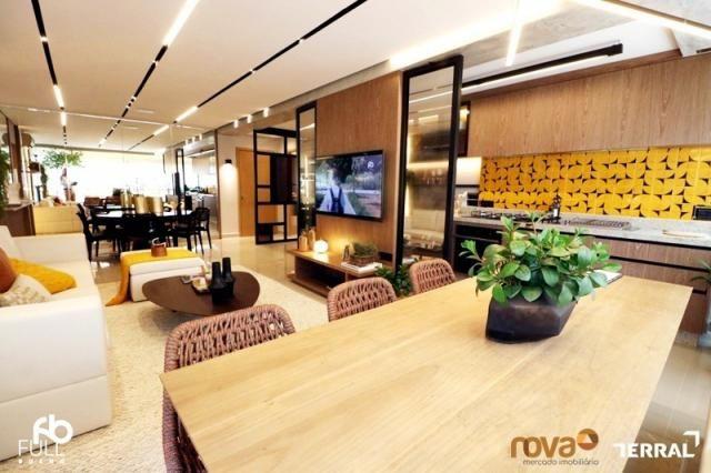 Apartamento à venda com 3 dormitórios em Setor bueno, Goiânia cod:NOV235717 - Foto 5