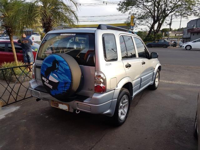 Tracker 2.0 Gasolina - 4x4 - Teto Solar - Ótimo Estado - Foto 4