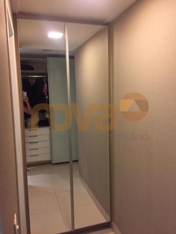 Apartamento à venda com 3 dormitórios em Setor bueno, Goiânia cod:NOV235489 - Foto 17