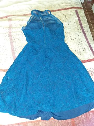 Vestido azul de festa - R$60,00 PRA VENDER AGORA - Foto 3