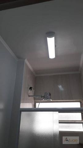 Apartamento com 3 dormitórios para alugar, 65 m² - parque euclides miranda - sumaré/sp - Foto 15