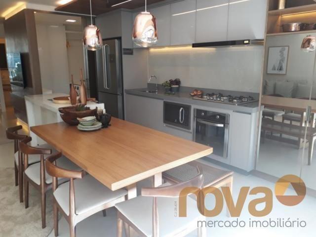Apartamento à venda com 3 dormitórios em Setor marista, Goiânia cod:NOV89112 - Foto 6
