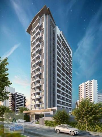 Apartamento com 2 dormitórios à venda, 37 m² por r$ 321.000 - aldeota - fortaleza/ce