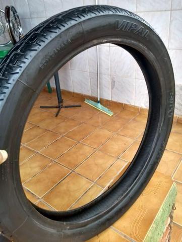 Rodas CG Fan 150 14/14 + Pneu dianteiro - Foto 6