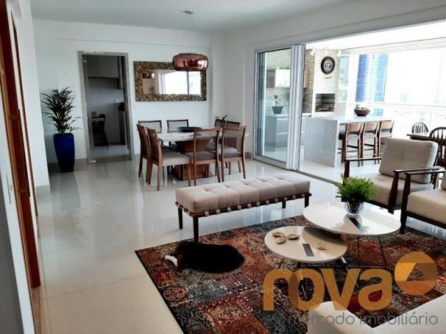 Apartamento à venda com 3 dormitórios em Setor bueno, Goiânia cod:NOV235705 - Foto 4