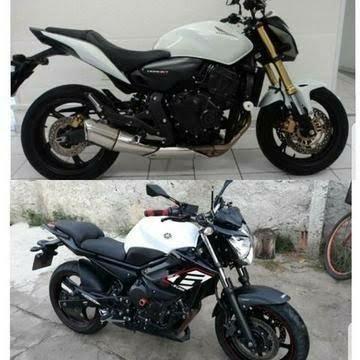 Assumo repasse de moto XJ6 ou Hornet