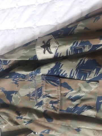 Jaqueta (USADA) camuflada padrão aeronáutica - Foto 2