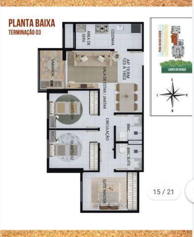 NV - Unique Hall Lagoa do Araçá 3 qts, 71m²- 81. * Whatsapp - Foto 14