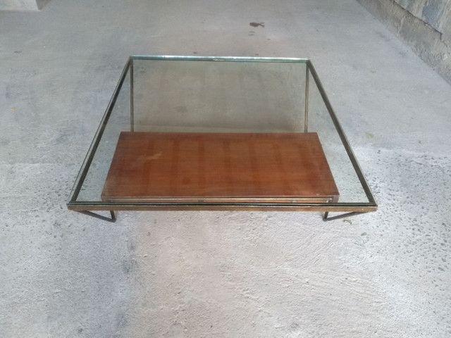Mesa de centro de vidro semi-nova - Foto 4