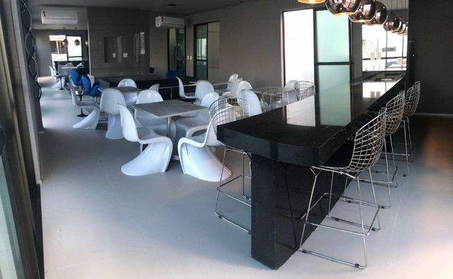 O Amplo 3/4 Varanda Novo/Pronto +DPE Com 109 m² Moderno-Melhor Localização da Jatiuca - Foto 3