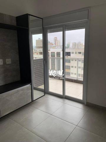 Apartamento com 2 dormitórios (1 suíte) à venda e locação, 72 m² - Gonzaga - Santos/SP - Foto 12