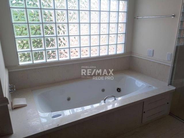 Casa com 3 dormitórios para alugar, 500 m² por R$ 7.300,00/mês - Condomínio Vista Alegre - - Foto 11