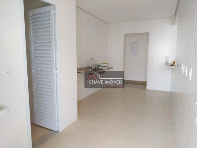 Apartamento com 3 dormitórios à venda, 111 m² por R$ 740.000,00 - Marapé - Santos/SP - Foto 6