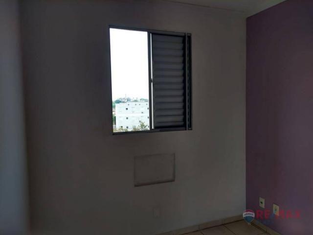 Apartamento com 2 dormitórios para alugar, 45 m² por R$ 650,00/mês - Residencial Ana Célia - Foto 12
