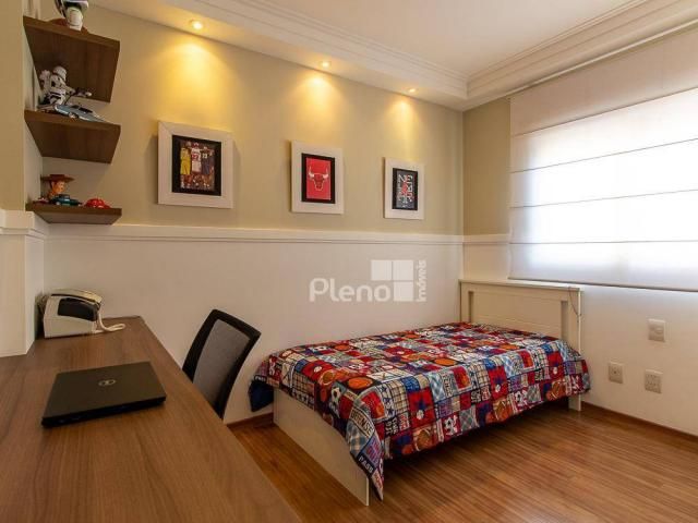 Apartamento com 3 dormitórios à venda, 129 m² por R$ 1.250.000 - Parque Prado - Campinas/S - Foto 14