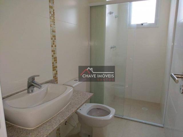 Apartamento com 3 dormitórios à venda, 111 m² por R$ 740.000,00 - Marapé - Santos/SP - Foto 13