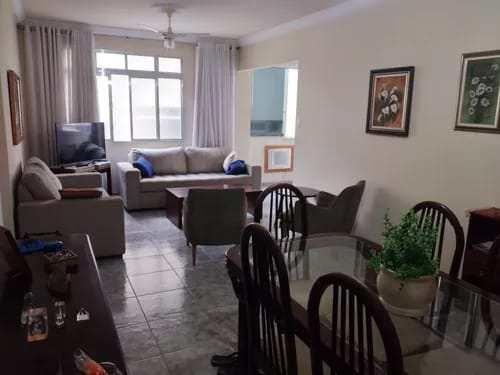 Apartamento à venda com 2 dormitórios em Gonzaga, Santos cod:1112