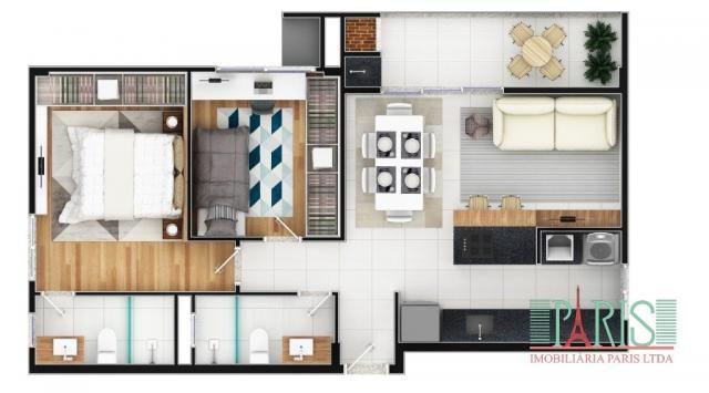 Apartamento à venda com 2 dormitórios em Iririú, Joinville cod:367 - Foto 6