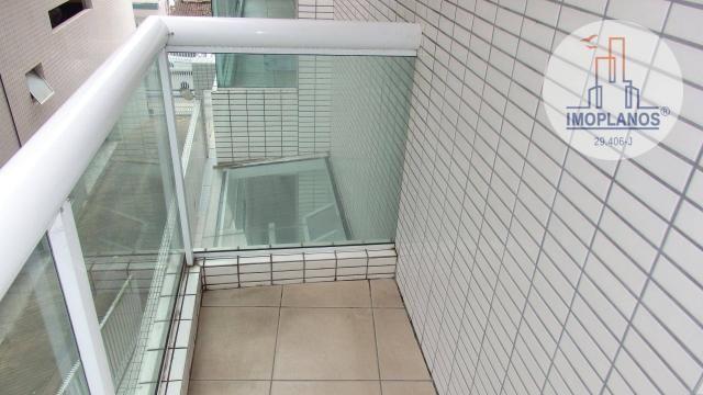 Apartamento com 2 dormitórios à venda, 80 m² por R$ 310.000,00 - Caiçara - Praia Grande/SP - Foto 4