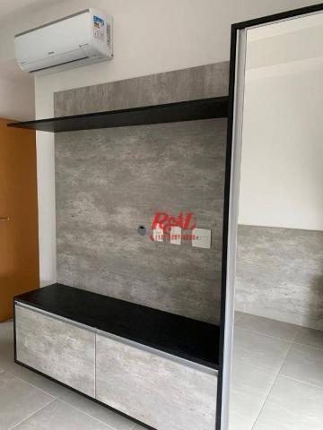 Apartamento com 2 dormitórios (1 suíte) à venda e locação, 72 m² - Gonzaga - Santos/SP - Foto 16