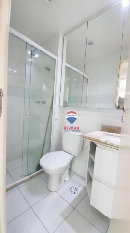 Apartamento com 3 dormitórios para alugar, 72 m² por R$ 1.595,94/ano - Neópolis - Natal/RN - Foto 6