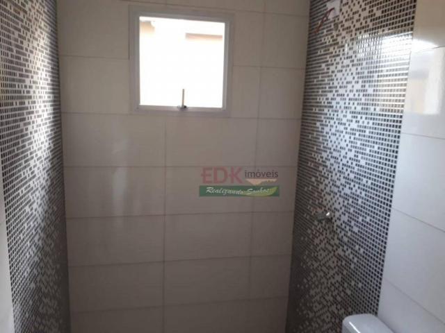 Casa com 2 dormitórios à venda, 60 m² por R$ 230.000 - Parque Nova Esperança - São José do - Foto 3