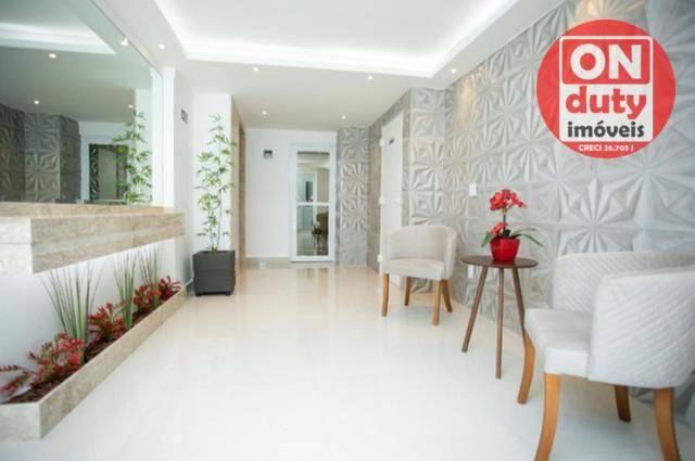 Apartamento Garden com 2 dormitórios à venda, 70 m² por R$ 475.000,00 - Aparecida - Santos - Foto 12