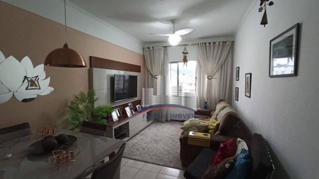 Apartamento com 2 dormitórios à venda, 74 m² por R$ 350.000,00 - Campo Grande - Santos/SP