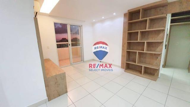 Apartamento com 3 dormitórios para alugar, 72 m² por R$ 1.595,94/ano - Neópolis - Natal/RN - Foto 2