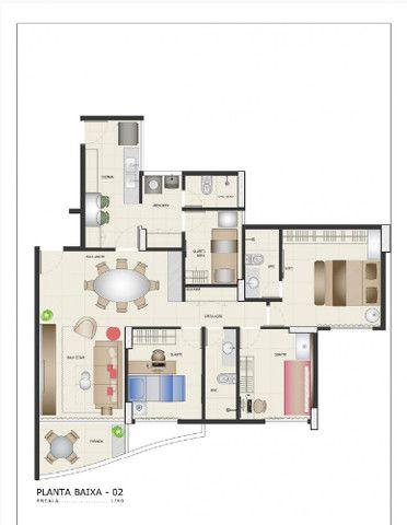 Apartamento a venda em Boa Viagem com 3 Quartos 2 vagas de garagem e lazer completo - Foto 17