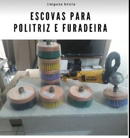 Escova para POLITRIZ M14/furadeira, Sabão APC