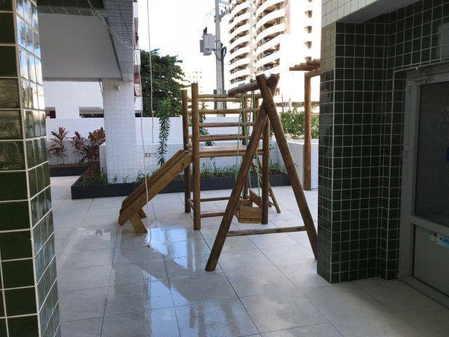 O Amplo 3/4 Varanda Novo/Pronto +DPE Com 109 m² Moderno-Melhor Localização da Jatiuca - Foto 13