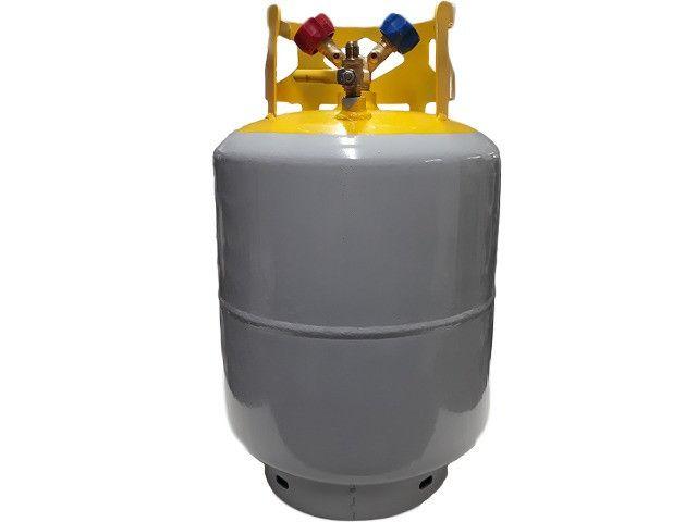 Tanque Recolhedor/ Reciclador Refrigerante 22,6kg Vulkan - Foto 2