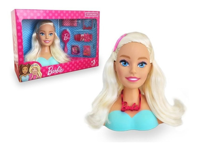 Boneca Bárbie Busto +  Kit Acessórios  Pupee Mattel - Whatssap * - Foto 3